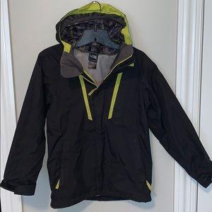 The north face boys rain jacket